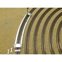 Schablone für die Verlegung von Flexgleisen N FLEISCHMANN,R362mm,1St,N/F/R362,6