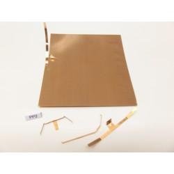 PP2 Spezial FEDERBLECH für die Herstellung von Kontakten,83x90mm/0,15mm