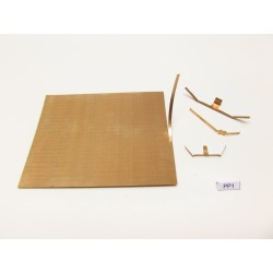 PP1, Special metal spring sheet for making contacts, 75x90mm