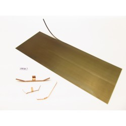 PP3A, Special metal spring hardened sheet for making contacts, 70x180mm