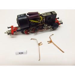 K29/TT-Kontakte TT lok. TT BR81,82 ZEUKE ,Metallrahmen,2St