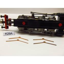 K29A/TT, contacts for BR81,82 ZEUKE, 4pcs / non-original
