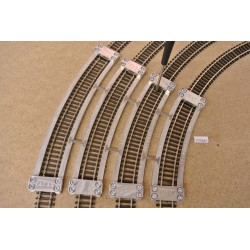 TT/T/SET, Arched Track Laying Templates for Flex Track TT TILLIG, 4 pcs