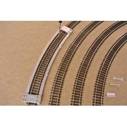 TT/T/R396, Arched Track Laying Template for Flex Track TT TILLIG, Radius 396 mm, 1 pcs