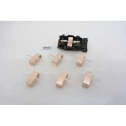 K46/TT, contacts for additional lighting of 4-remedy personal wagons, 6-10pcs / non-original