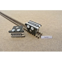 N/H1, Montage Clips for Laying Flex Track in N scale, 2pcs
