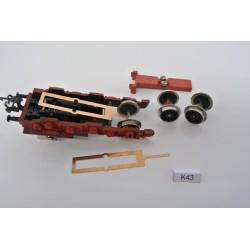 K43/TT, Springy part for inner chassis wheelset for BTTB: BR 254, BR 194 (Crocodile), 2pcs / non-original