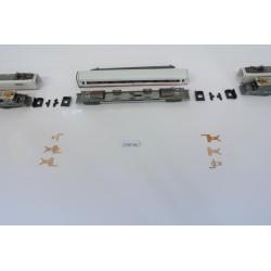 T7/SET/B1 Nicht gebogene Kontakte für ICE SET Minitrix-MITTELWAGEN,,nicht original,6St