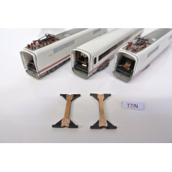 T7/N Kupplungen für ICE-Set N-Minitrix 12996,Nicht original,2St