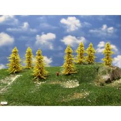 31M1TT-Bäume,Lärchen gelb,Höhe 8-11cm,20 Stück