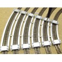 CURVED TRACK LAYING TEMPLATES